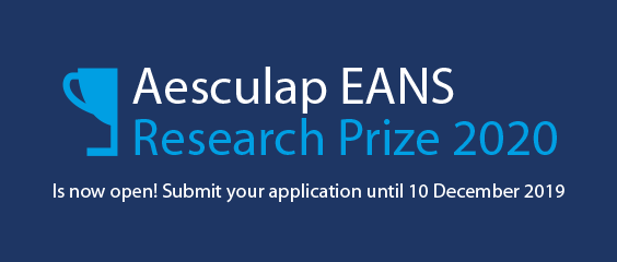 Aesculap EANS Research Prize 2020!